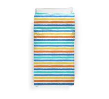 Brush Strokes Colorful Seamless Pattern Duvet Cover