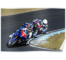 Kevin Curtain | FX Superbikes | Eastern Creek Poster