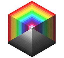 Cubes + Pyramids by Pendleburt