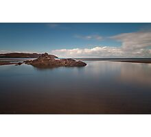 Broughton Bay Gower Swansea Photographic Print