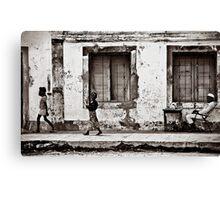 The petty salesman of Ilha  Canvas Print