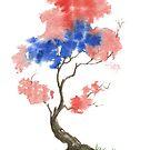 Little Zen Tree 291 by Sean Seal