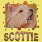 Trixie the Scottie Dog by ArtToWear