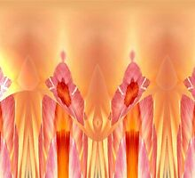 Tulip Abstract by Marie Sharp
