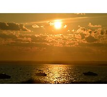 sunset over the Atlantic Photographic Print