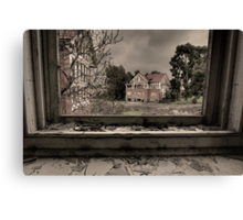 Larundel Mental Asylum Canvas Print