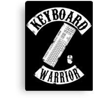 Keyboard Warrior Canvas Print
