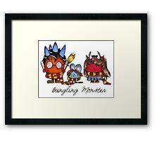 Bungling Monster - Harry Potter Framed Print
