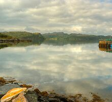 By Gairloch Harbour by Jamie  Green