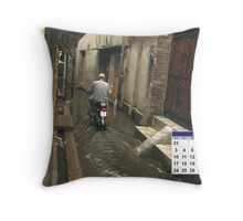 July 2011 Throw Pillow