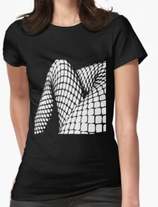 Fishnet legs (white print) T-Shirt