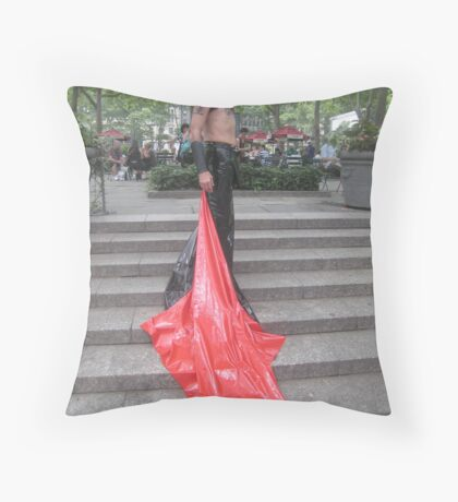 Mister sister Throw Pillow