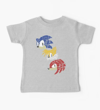 Sonic, Tails & Knuckles Baby Tee
