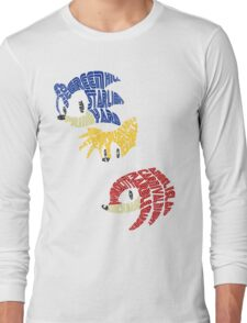 Sonic, Tails & Knuckles Long Sleeve T-Shirt