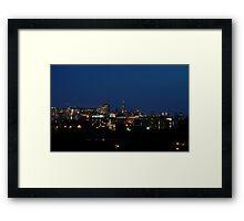 Ottawa Skyline Framed Print