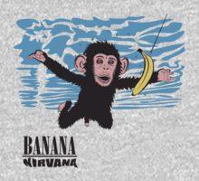 Banana Nirvana One Piece - Long Sleeve