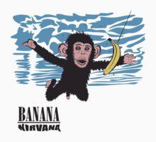 Banana Nirvana Kids Tee