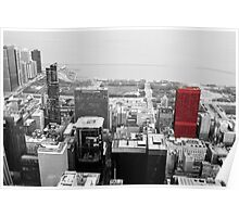 Chicago: CNA Center, Red Poster