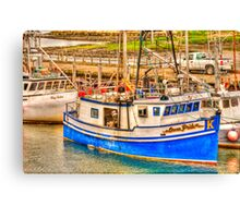 main lobster boats Canvas Print
