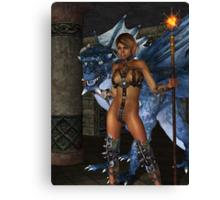 The Dragon Princess Canvas Print