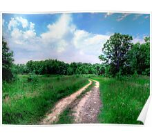 Inviting Path Poster
