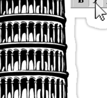 The Leaning Tower of Pisa: Explained Sticker