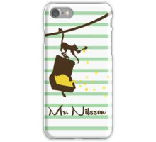 Mr Nilson - Pippi Longstocking iPhone Case/Skin