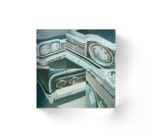 Cars Acrylic Block