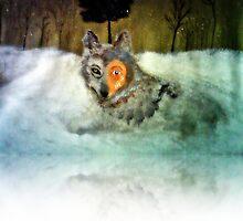 Brave Wolf by Angela Pari Dominic Chumroo