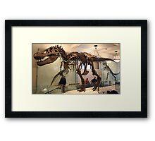 Cool Tyrannosaurus Framed Print