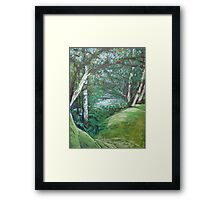 Picnic Area Framed Print