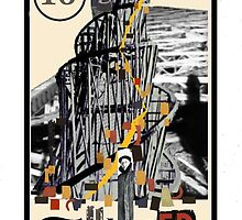 Dada Tarot-The Tower by Peter Simpson