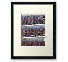 pseudo-grid Framed Print
