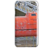 A dirty lifeboat iPhone Case/Skin