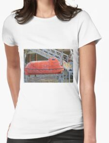 A dirty lifeboat Womens Fitted T-Shirt
