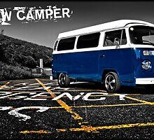 VW Camper Van  by Paul Shellard
