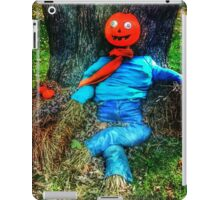 Pumpkin Head Scarecrow iPad Case/Skin