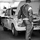 Lotus Cortina taking a break by David Jones