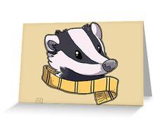 Hufflepuff Greeting Card