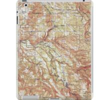 USGS Topo Map Oregon Boring 282268 1914 62500 iPad Case/Skin