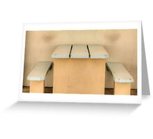 Have a seat - Newcastle Baths Greeting Card