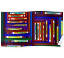 The Bookcase Poster