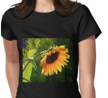 Sunflower - Helianthus  Womens Fitted T-Shirt