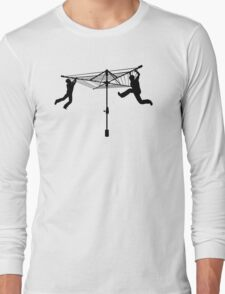 Merry Go Hills Hoist Long Sleeve T-Shirt