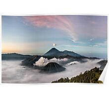 Mount Bromo Sunrise Poster