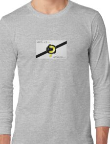 Timelord Calling Card Long Sleeve T-Shirt