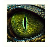 Eye of the Crocodile II [Print & iPad Case] Art Print