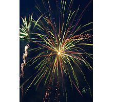 Party Streamers Photographic Print
