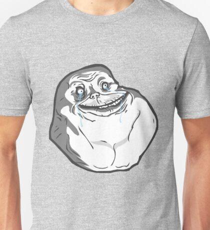 Forever Alone Dynamic Design Unisex T-Shirt