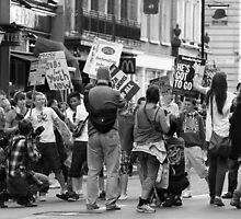 The Kids are Alright, Whitehall, London 2011 by Timothy Adams
